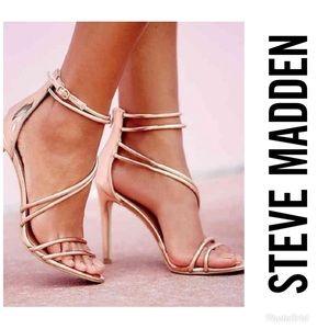 STEVE MADDEN Fico Rose Gold Metallic